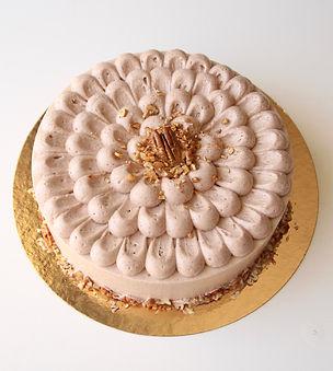 עוגת מוס- מוס פקאן- קרם ברולה