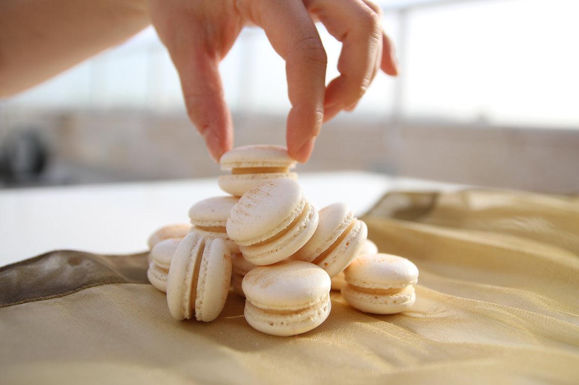 עוגיות מקרון- תפריט