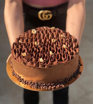 עוגת מוס- מוס שוקולד- קרם ברולה