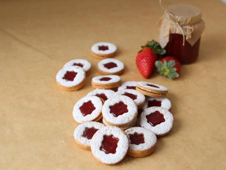 עוגיות ריבה תוצרת בית