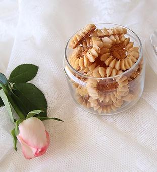 עוגיות פלורנטין- בצק פריך- שקדים