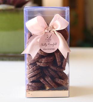 עוגיות קקאו- מלח ים- קקאו- בצק פריך