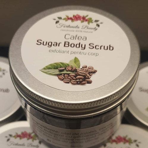 Sugar body scrub Cafea