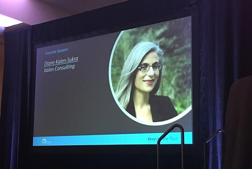 Diane Kalen-Sukra - keynote address