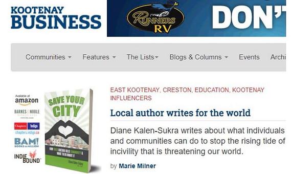 Kootenay Business - Diane Kalen-Sukra -