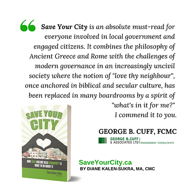 Save Your City - GEORGE B. CUFF Testimon