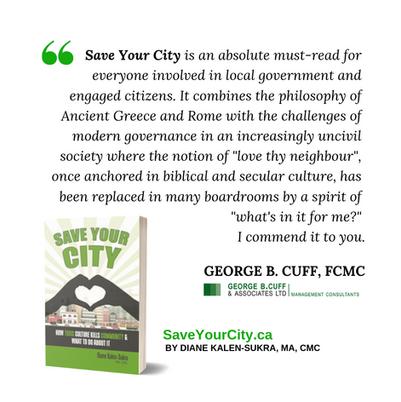 Save Your City - GEORGE B. CUFF Testimon