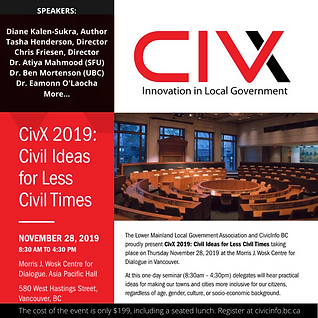CivX - Innovation in Local Government -