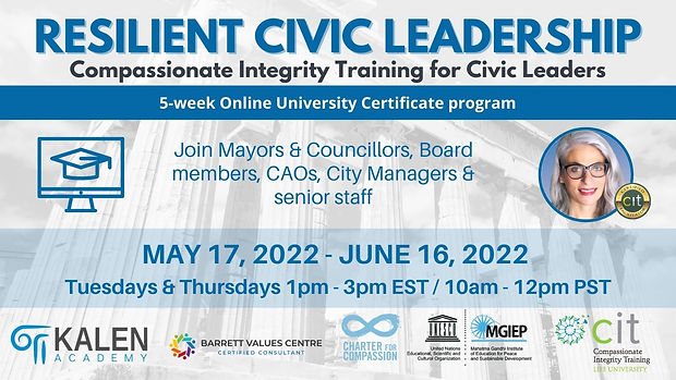 Resilient Civic Leadership 2022