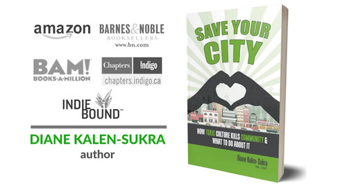 Book Video Trailer - Save Your City - Author Diane Kalen-Sukra