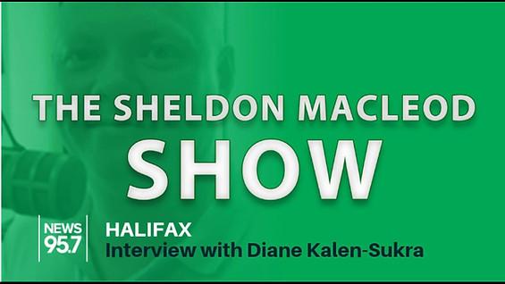Halifax News 95.7 Diane Kalen-Sukra interview