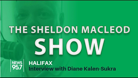 Halifax News 95.7 Diane Kalen-Sukra interview