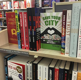 Save Your City in bookstores