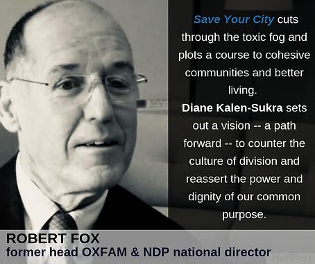 Robert Fox on Save Your City