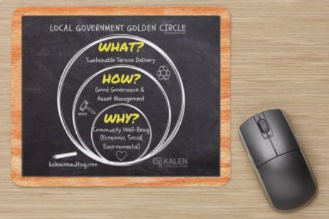 Mouse Pad | Local Government Golden Circle