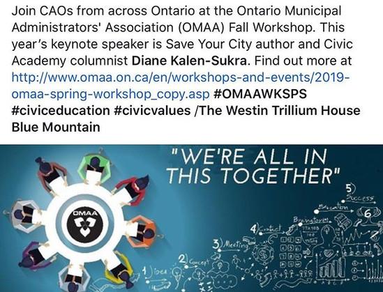 OMAA Conference Keynote - Diane Kalen-Su