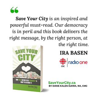 Save Your City - IRA BASEN Testimonial