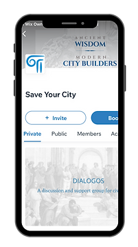 Download Save Your City App