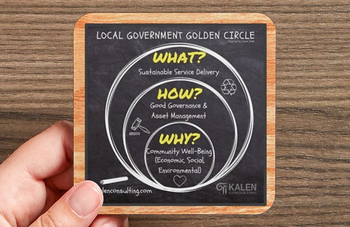 Coaster | Local Government Golden Circle - Set of 6