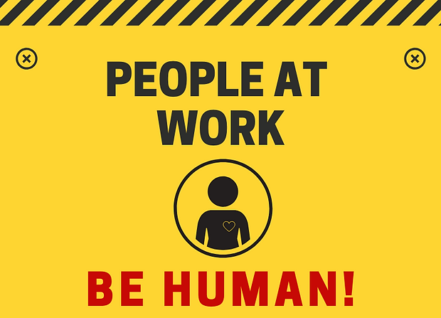 People at Work - Be Human - Facebook Ins