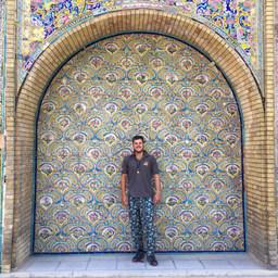 Golstein Palace in Iran