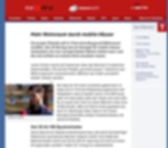 ORF-Tirol Artikel über Julians RaumManufaktur, Julian Fischer
