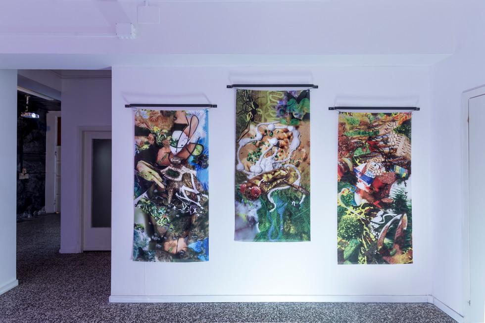 Eva Papamargariti, Facticious Imprints, 2016, ongoing series, installation shot