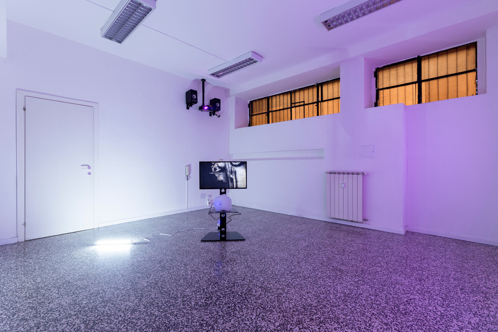 Anne De Boer, I am breathing, 2016, ongoing series, installation shot