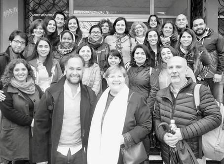 Chile – CTGaguez participa em Especialização dirigida a profissionais da América Latina.
