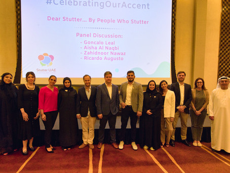 CTGaguez celebra em Abu Dhabi o Dia Internacional de Consciência para a Gaguez (22 de Outubro).
