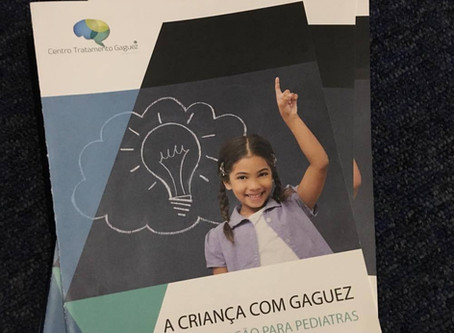 Participação do CT-Gaguez no Congresso Nacional de Pediatria.