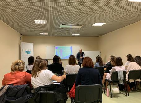 SpeechCare organizou curso de Gaguez Infantil (Scott Yaruss) em Lisboa