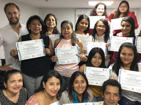 CTGaguez forma profissionais do Equador