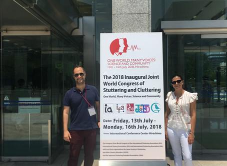 Japão - CTGaguez marca presença em Congresso Mundial de Gaguez (Hiroshima -IFA2018)