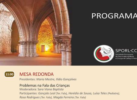 SPORL-CCP. CTGaguez participa em reunião da Sociedade Portuguesa de Otorrinolaringologia