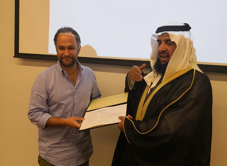 CTGaguez na Arábia Saudita a convite da Saudi Society of Speech Language Pathology & Audiology.
