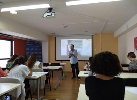 CTGaguez dinamiza workshop em Espanha (Múrcia