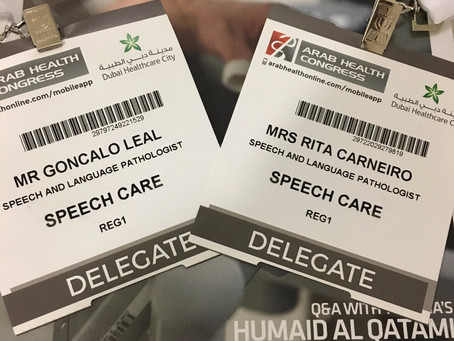 Participação no Arab Health Congress (Dubai)