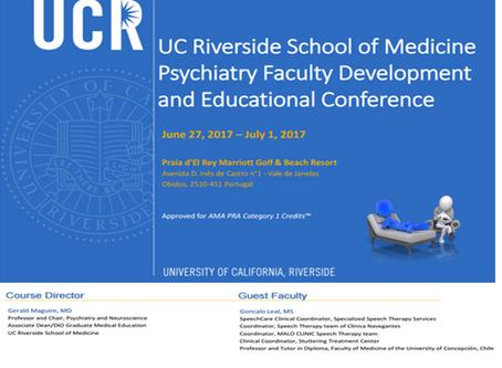 Centro de Tratamento de Gaguez participa em evento da UC Riverside School of Medicine