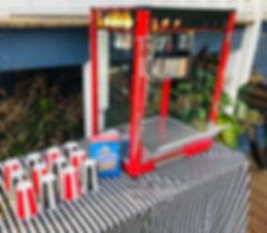 popcorm machine hire geelong