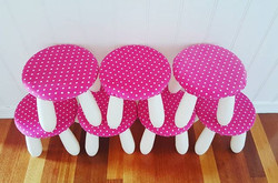 Mini mouse party seats 😍