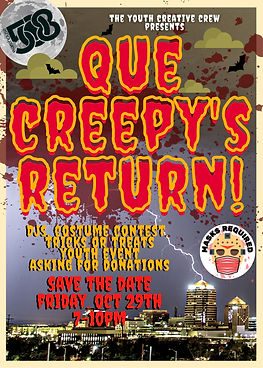 Que creepy return Flyer.jpeg