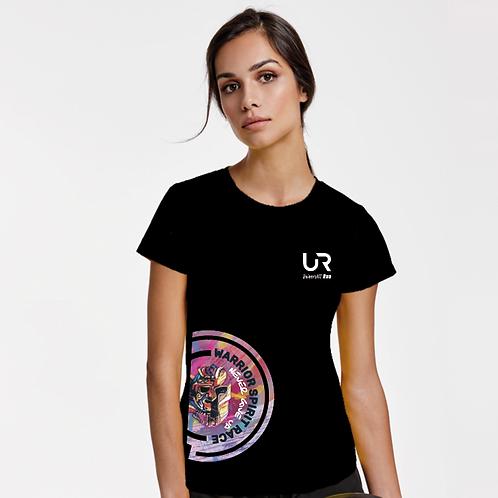 T shirt manche courte Warrior Spirit Femme