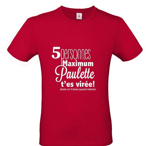 T shirt Noël Covid à personnaliser!