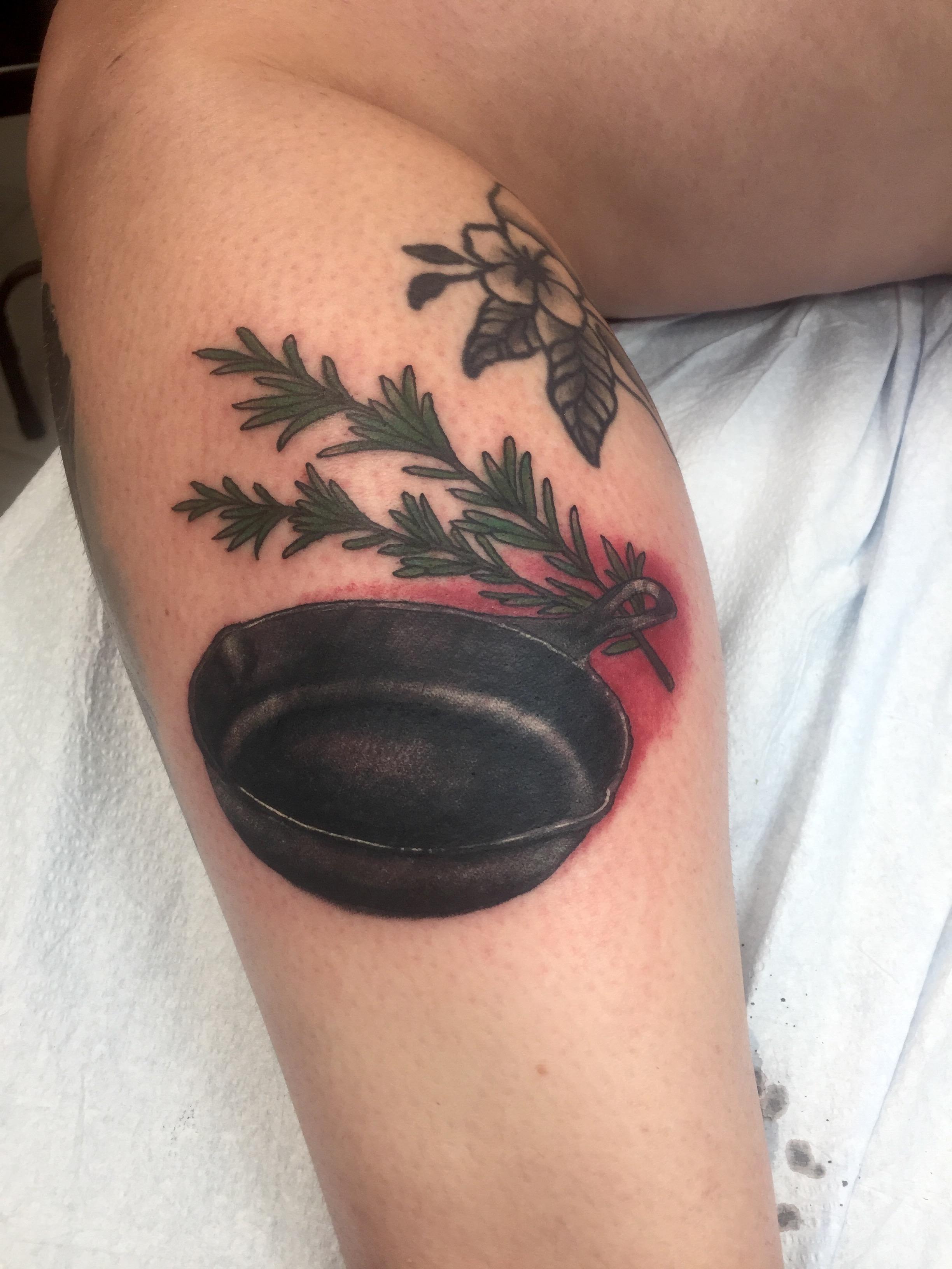 skillet tattoo