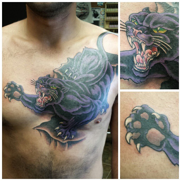 Black panther cover-up