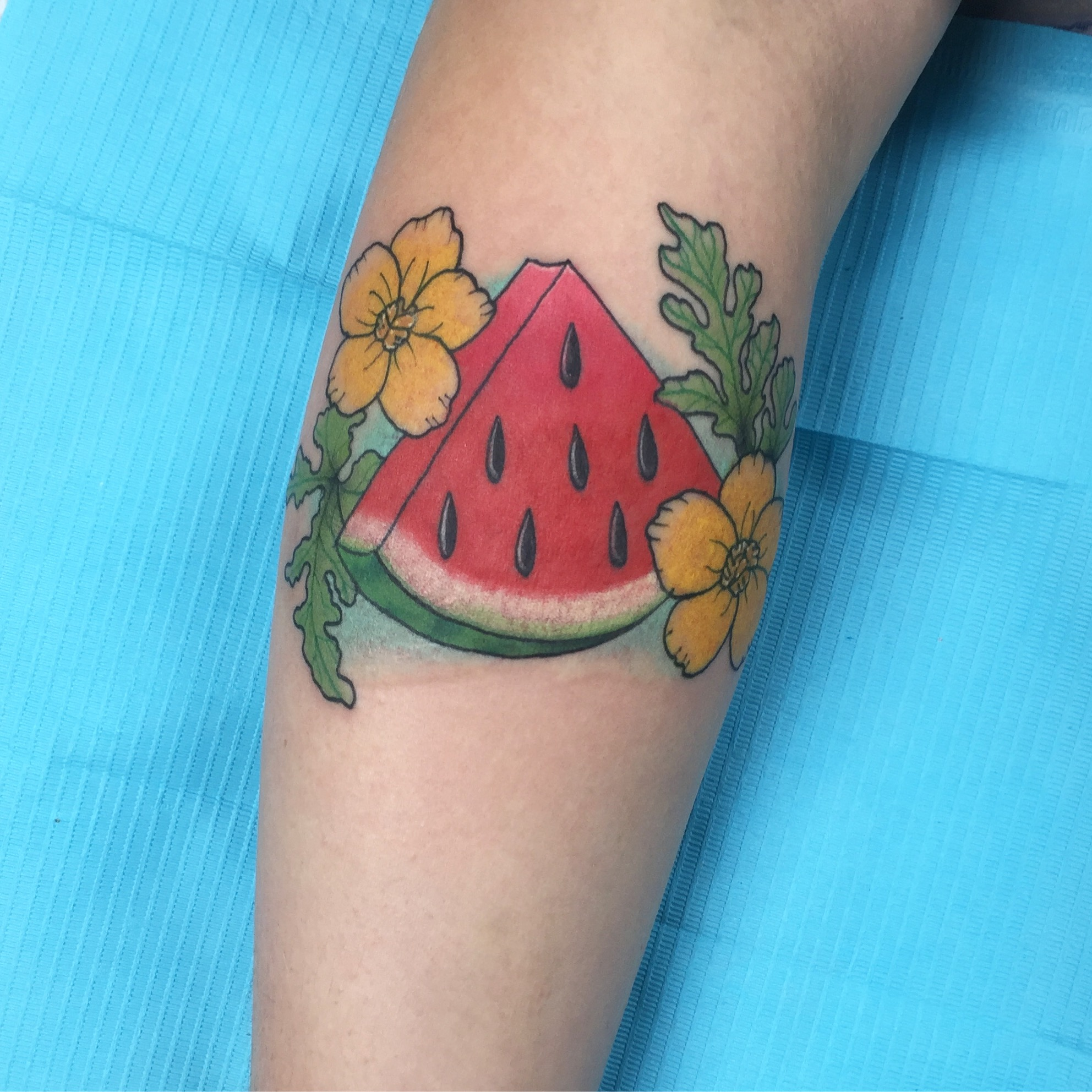watermelon tattoo