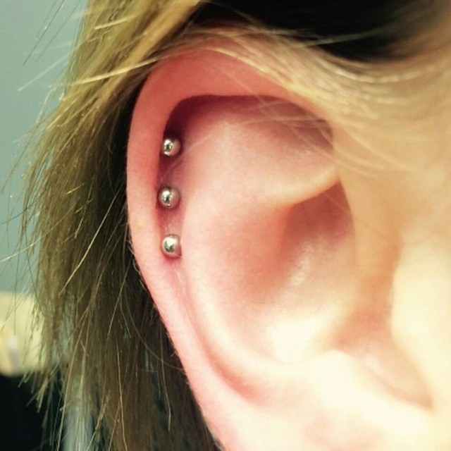 Instagram - Another cool looking pircing by Justin