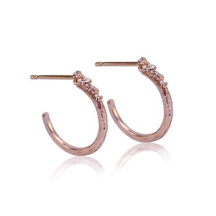 Moss Hoop Earrings