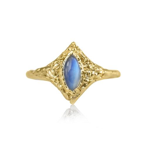 Twinkle Moonstone Gold
